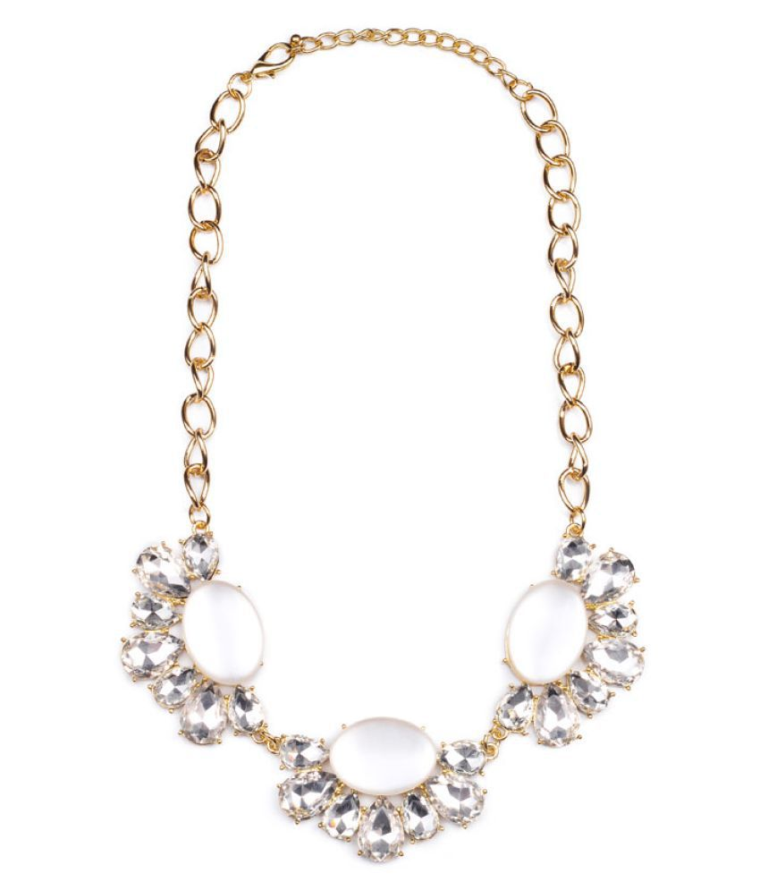 Chooseberry Golden Alloy Necklace