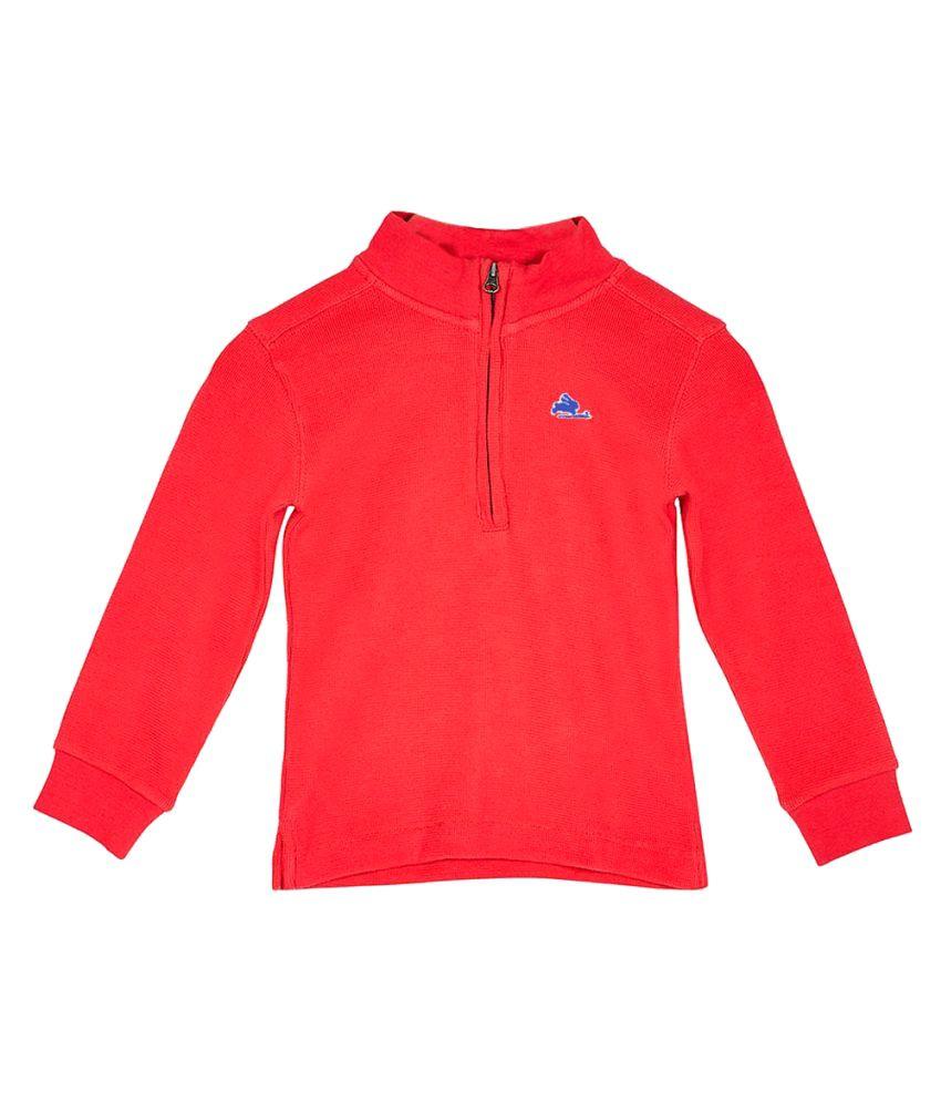 Cherry Crumble California Red Sweatshirt
