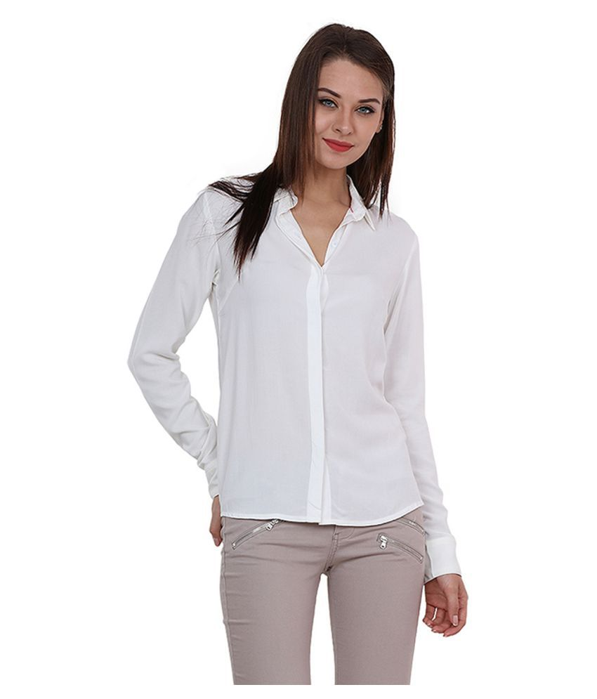 Rasada White Cotton Shirt