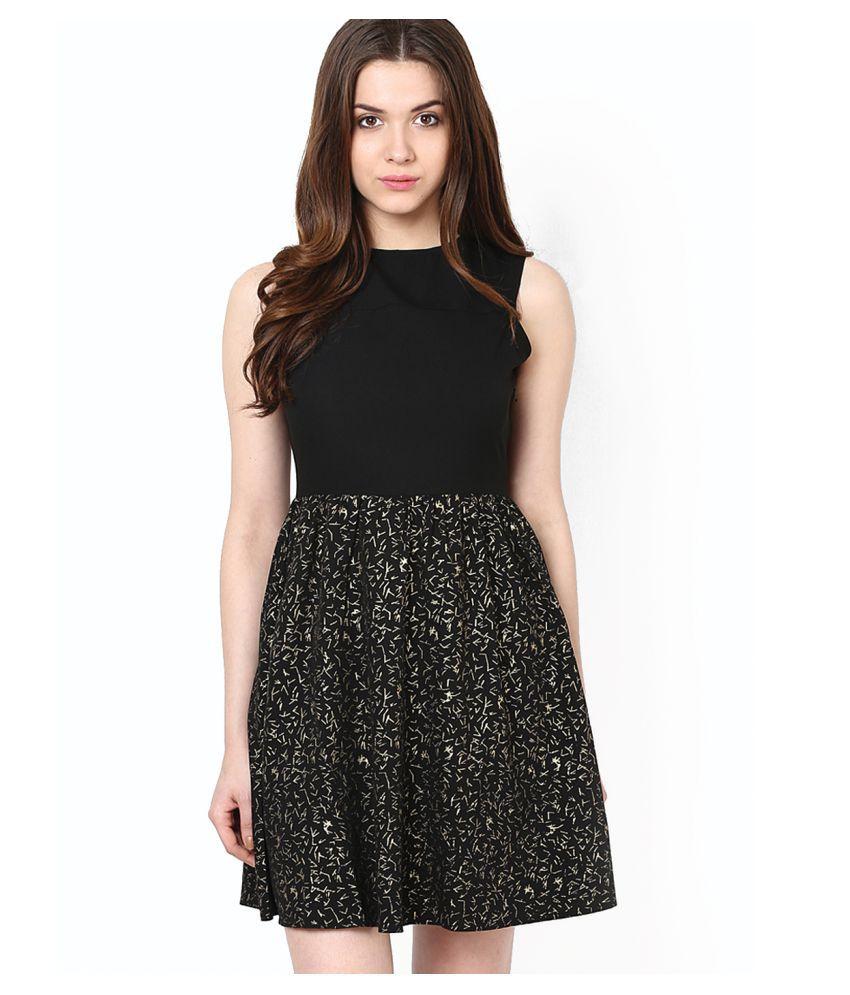 Only Black Polyester Dresses