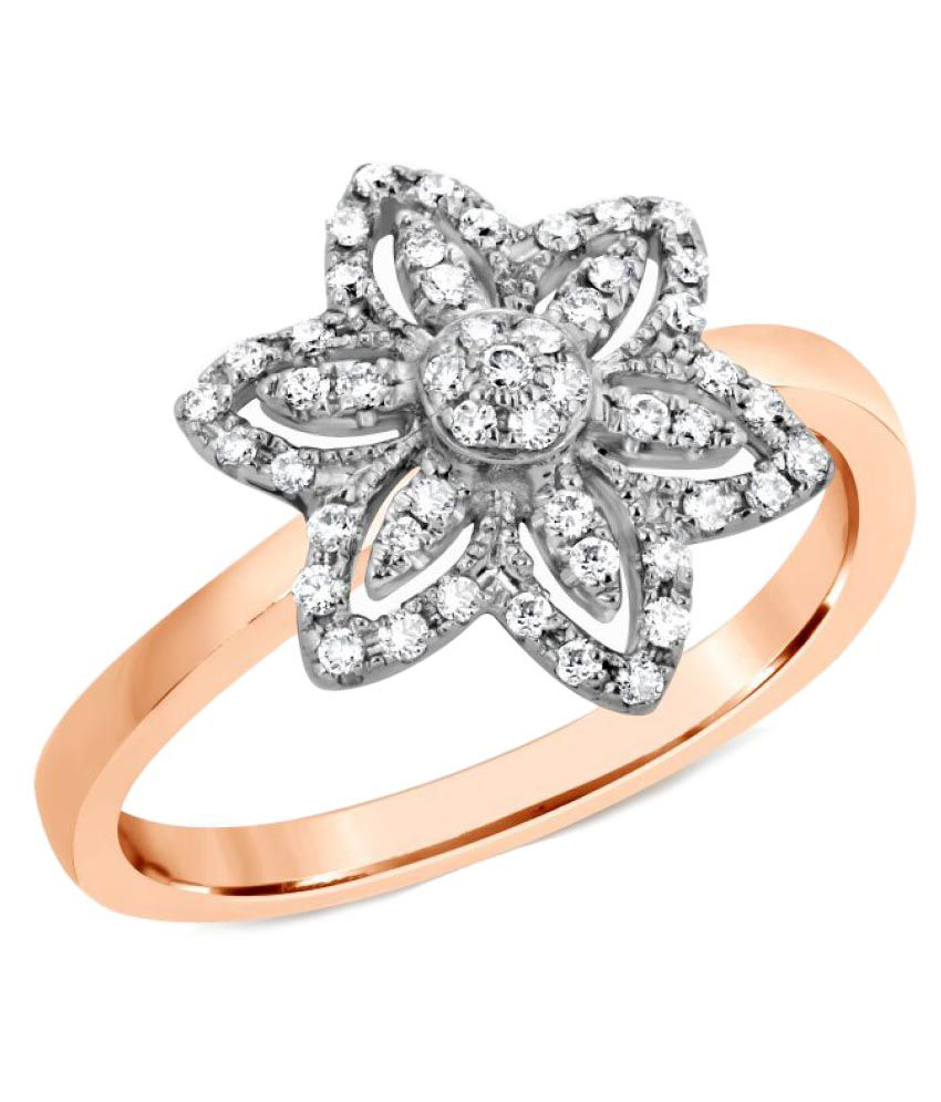 ATjewel 18k Rose Gold Ring