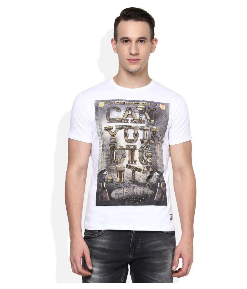LAWMAN pg3 White Round T-Shirt