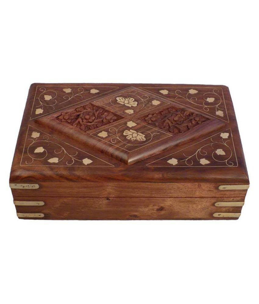 Craftgasmic Brown Jewellery Box