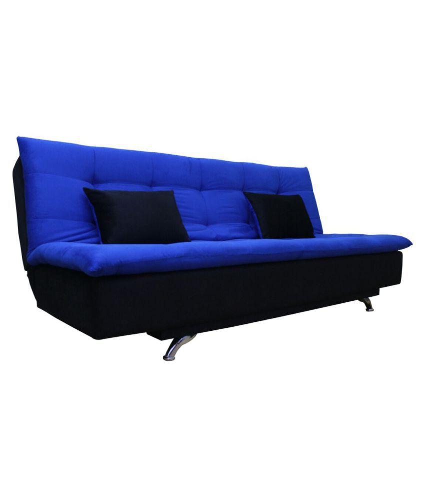 Adorn India Aspen Sit U0026 Sleep Fabric Sofa Cum Bed ...