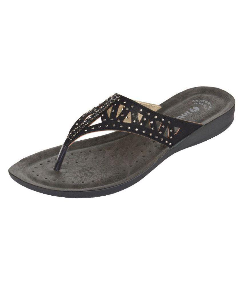 Inblu BLACK Slippers