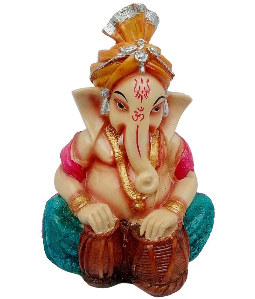 Art N Hub Ganesha Earthenware Idol