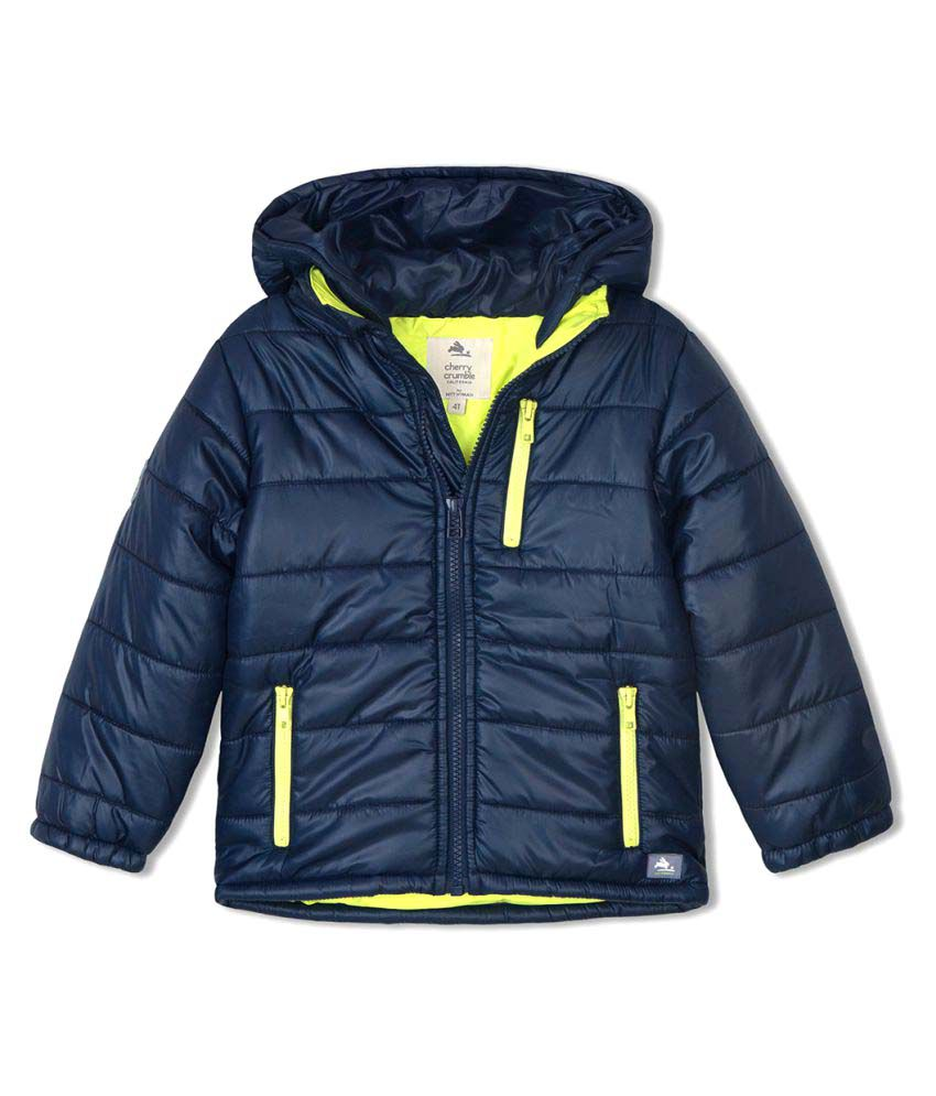 Cherry Crumble Lightweight PUFFER Jacket For Girl