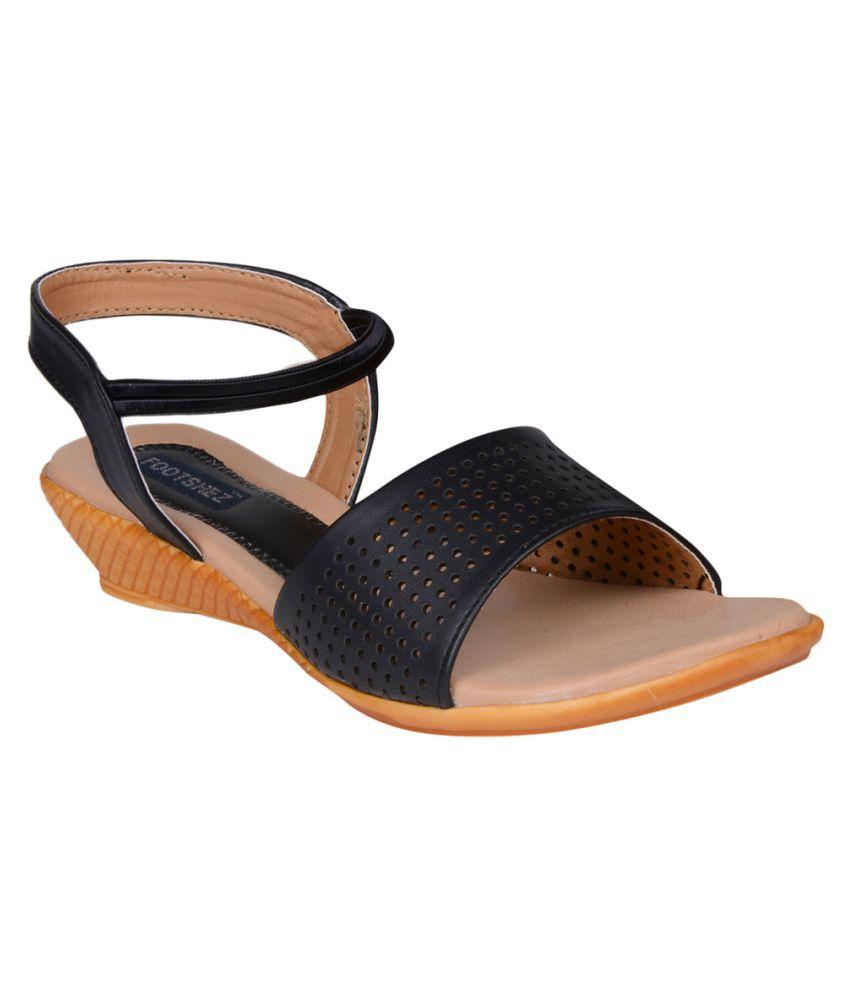 Footshez Black Platforms Heels
