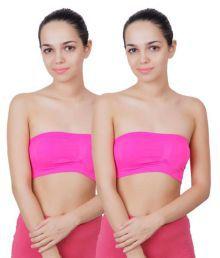 Innocent Care Pink Cotton Lycra T-Shirt/ Seamless Bra