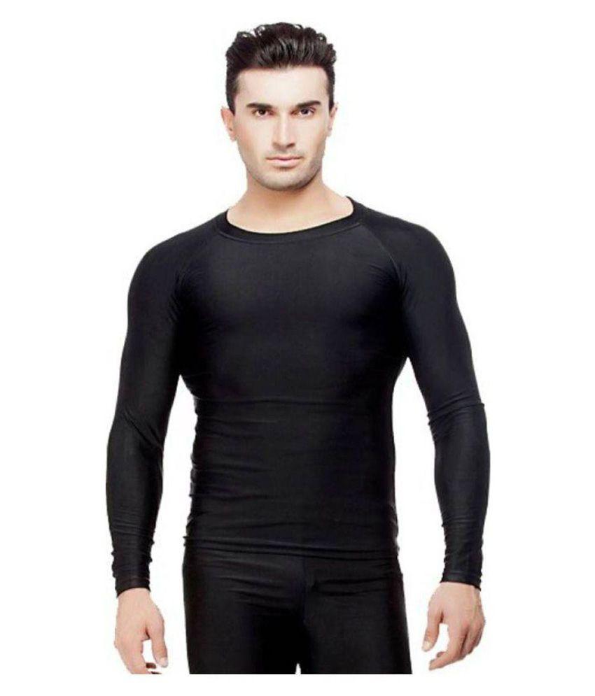 Credence Black Compression T Shirt