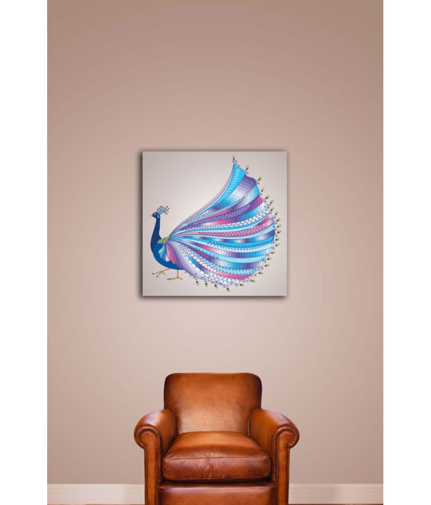 Ell Decor Canvas Bird Paintings Without Frame Single Piece