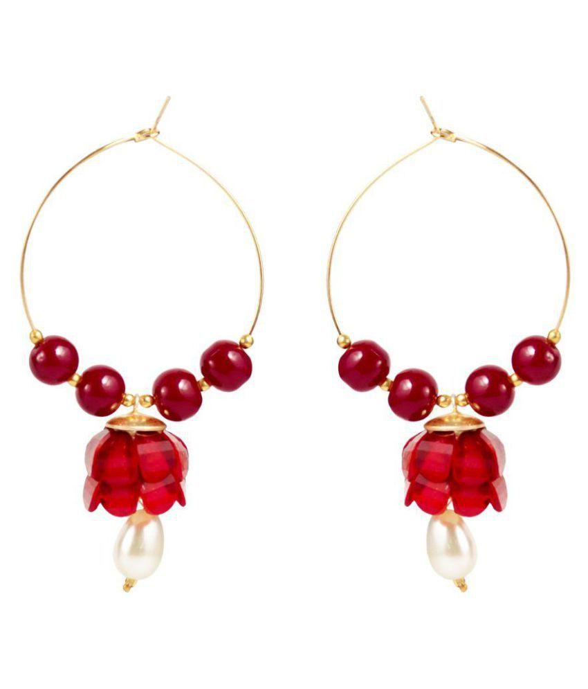 Penny Jewels Red Earrings
