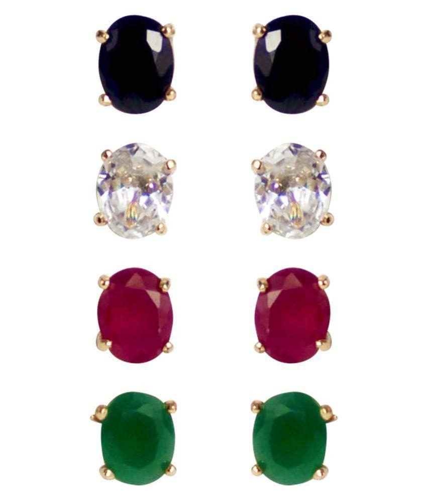 Penny Jewels Multicolor Earrings Combo