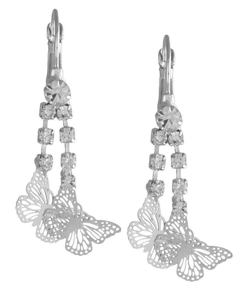 Trinetra Alloy Designer Fashion Earrings for Girls