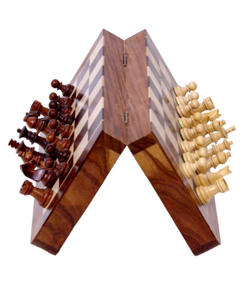 Bigbaboon Chess Magnetic with Wooden Box