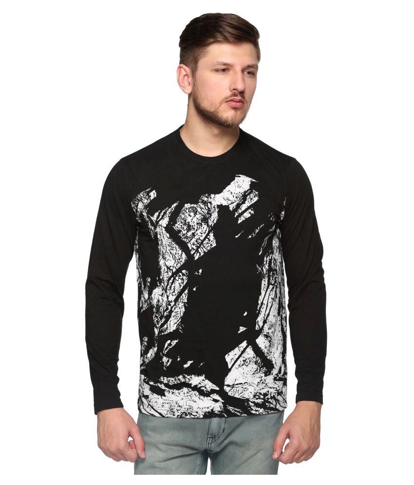 Club York Black Round T-Shirt