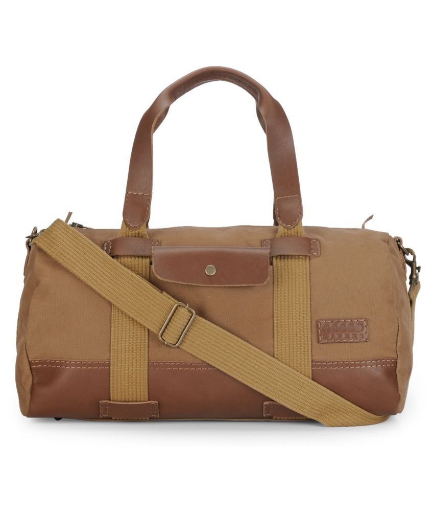 Phive Rivers Khaki Gym Bag