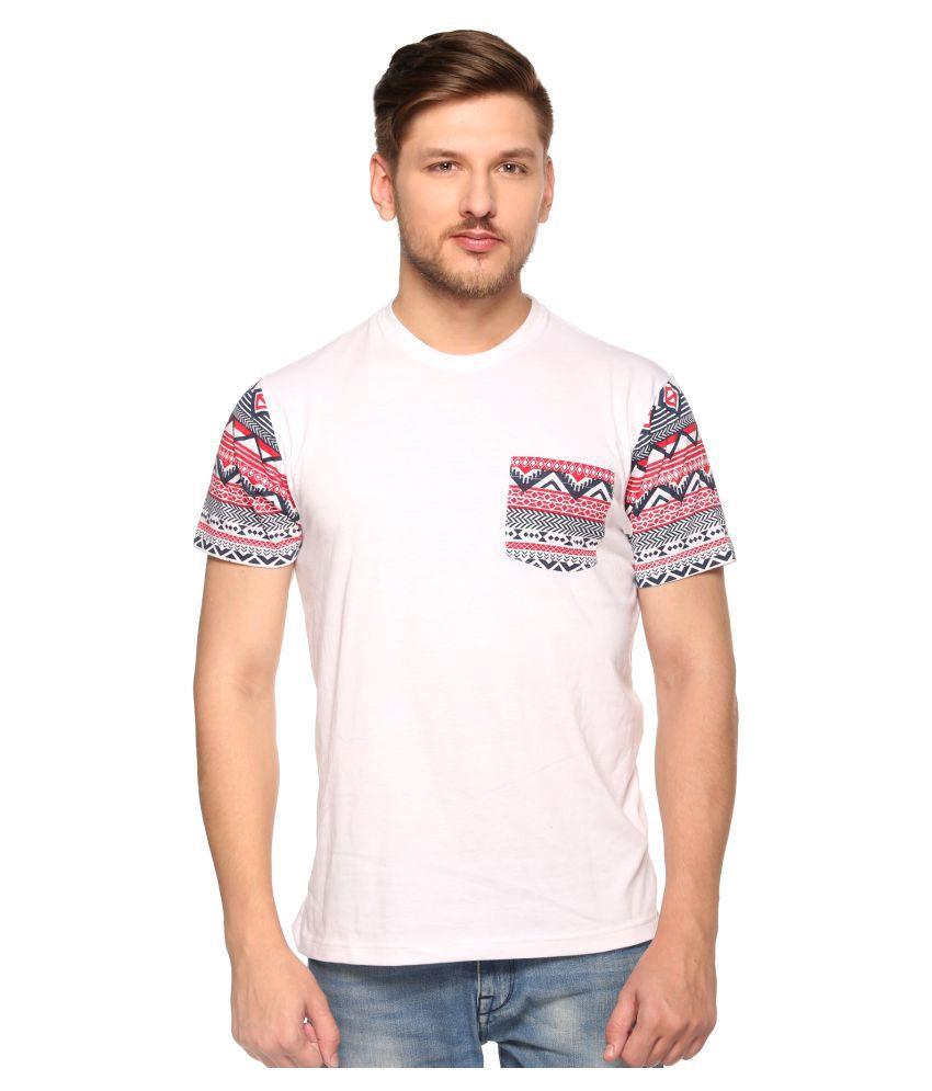 Club York White round T-Shirt