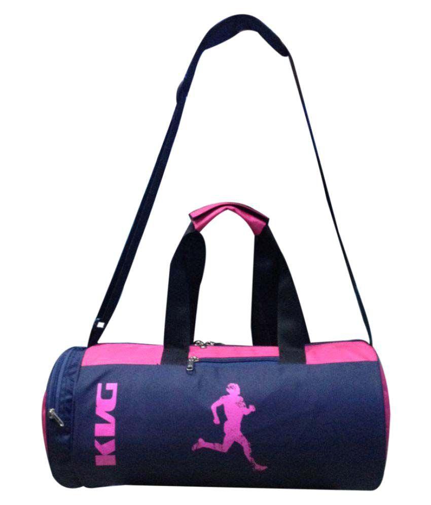 KVG BLACK PINK Gym Bag