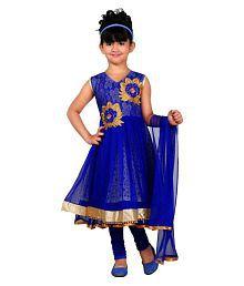 JBN Creation Blue Salwar Suits