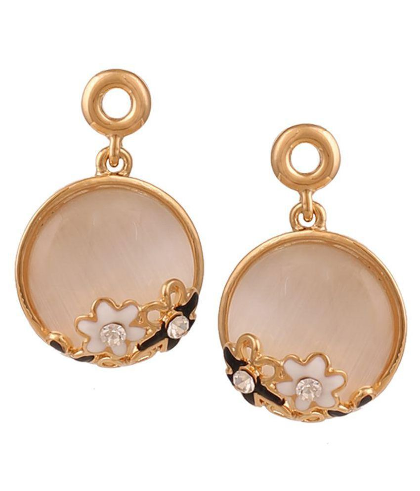 IIFA Gold Plated Moonstone Earring