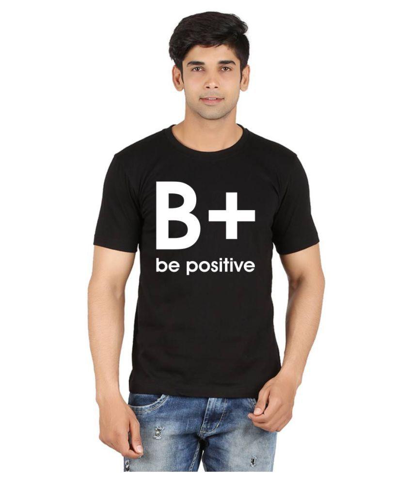 Xtees Black Round T-Shirt