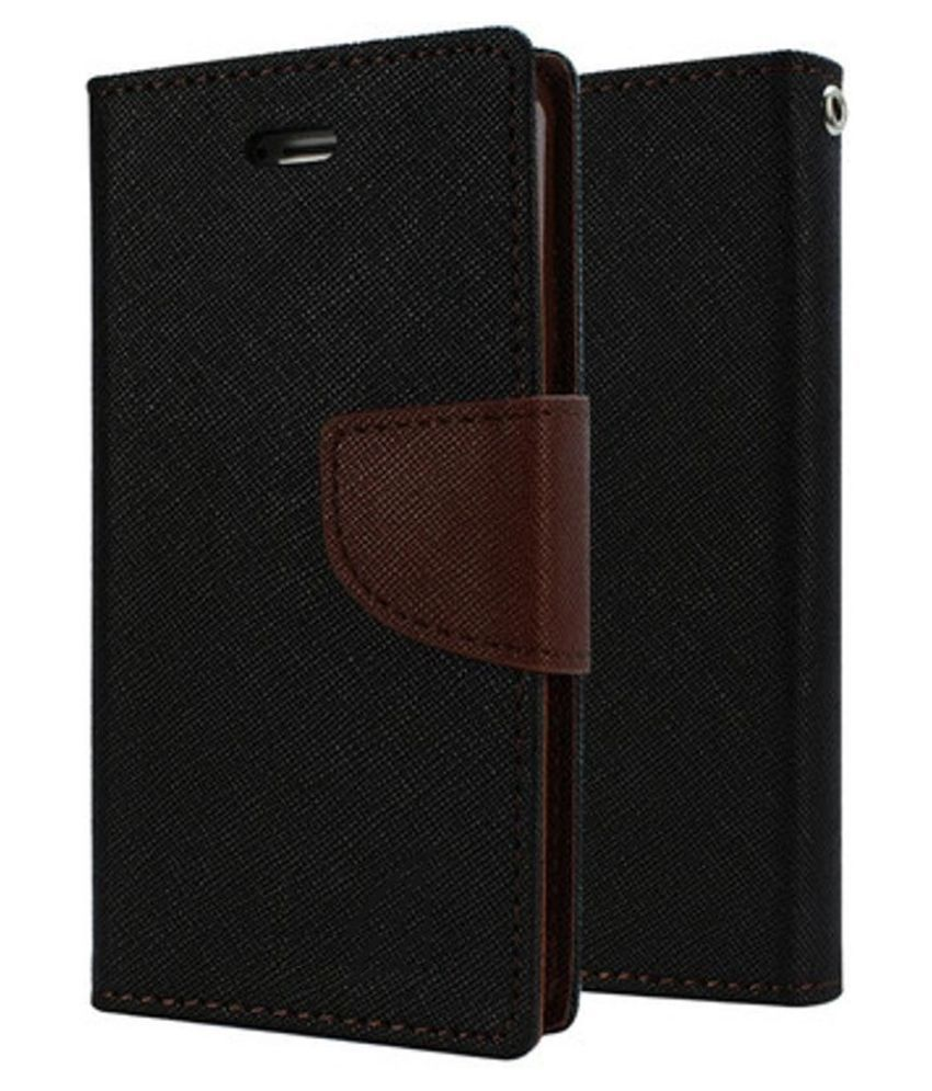 Xiaomi Redmi Note 3 Flip Cover by G-MOS - Brown