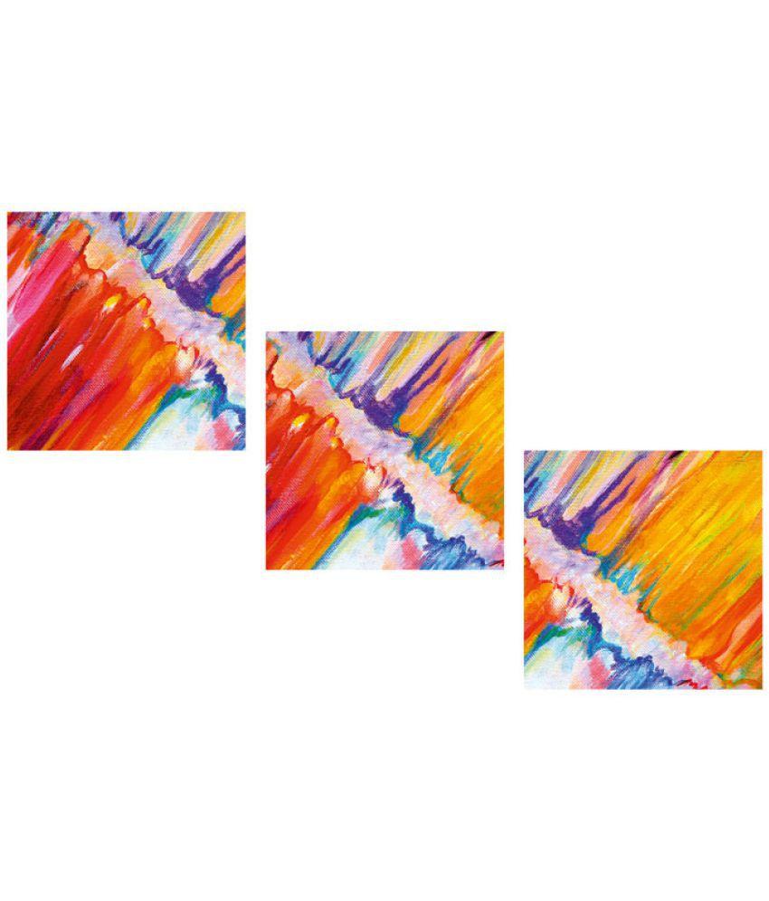Ell Decor Canvas Landscape Paintings Without Frame 3 Combination