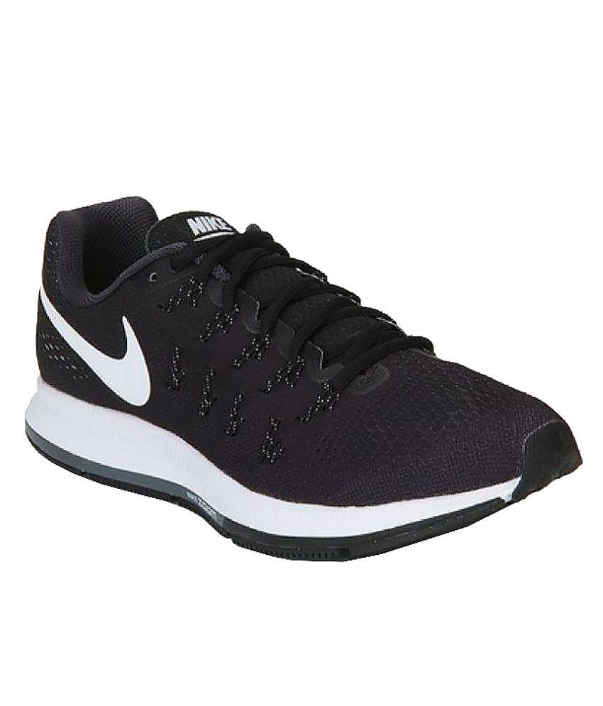 quality design 54102 7e83c Nike Nike Air Zoom Pegasus 33 Black Training Shoes