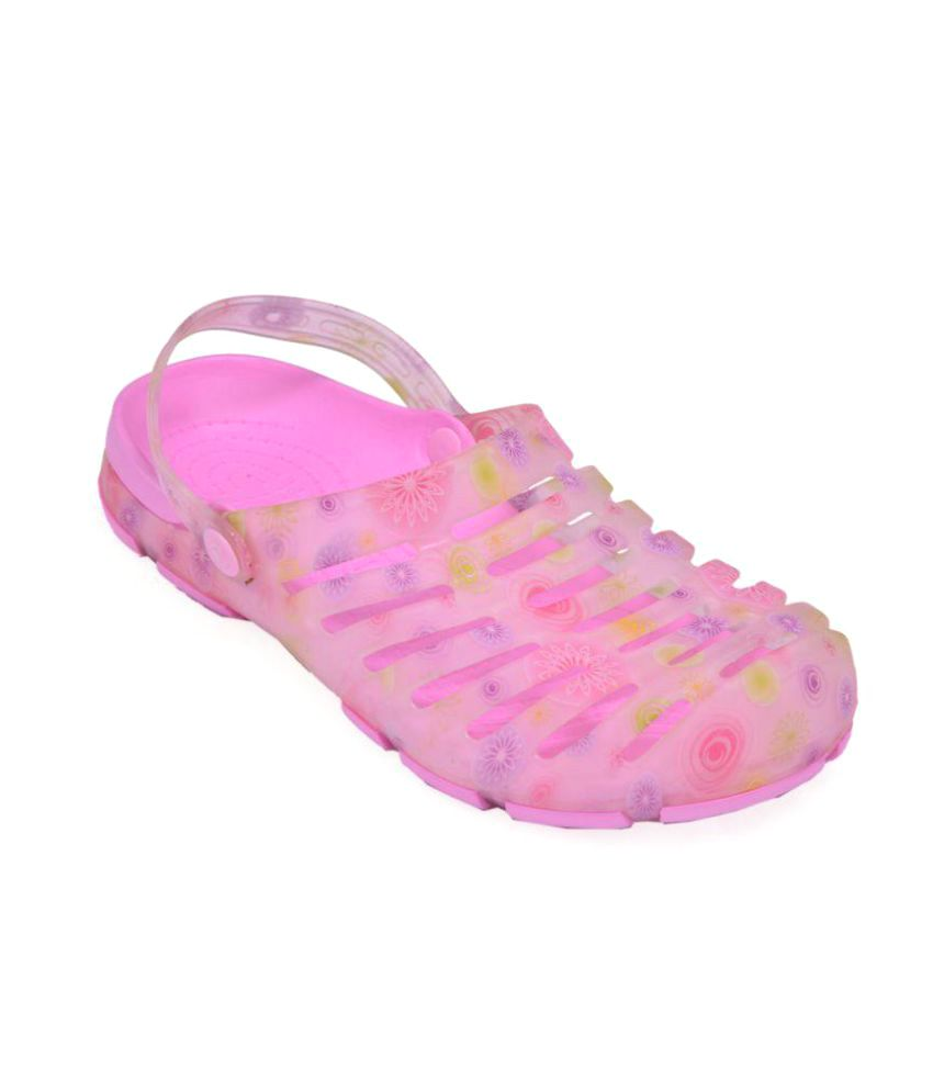 Crocslite Pink Slippers