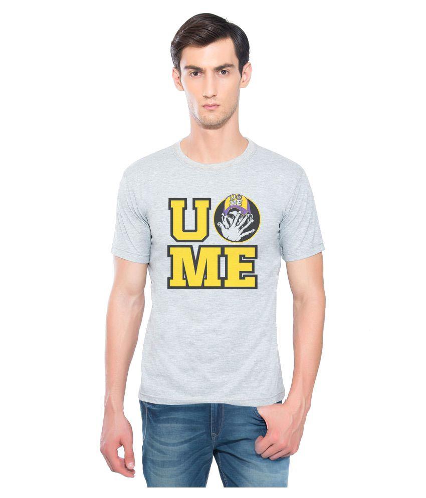 Swag Theory Grey Round T-Shirt