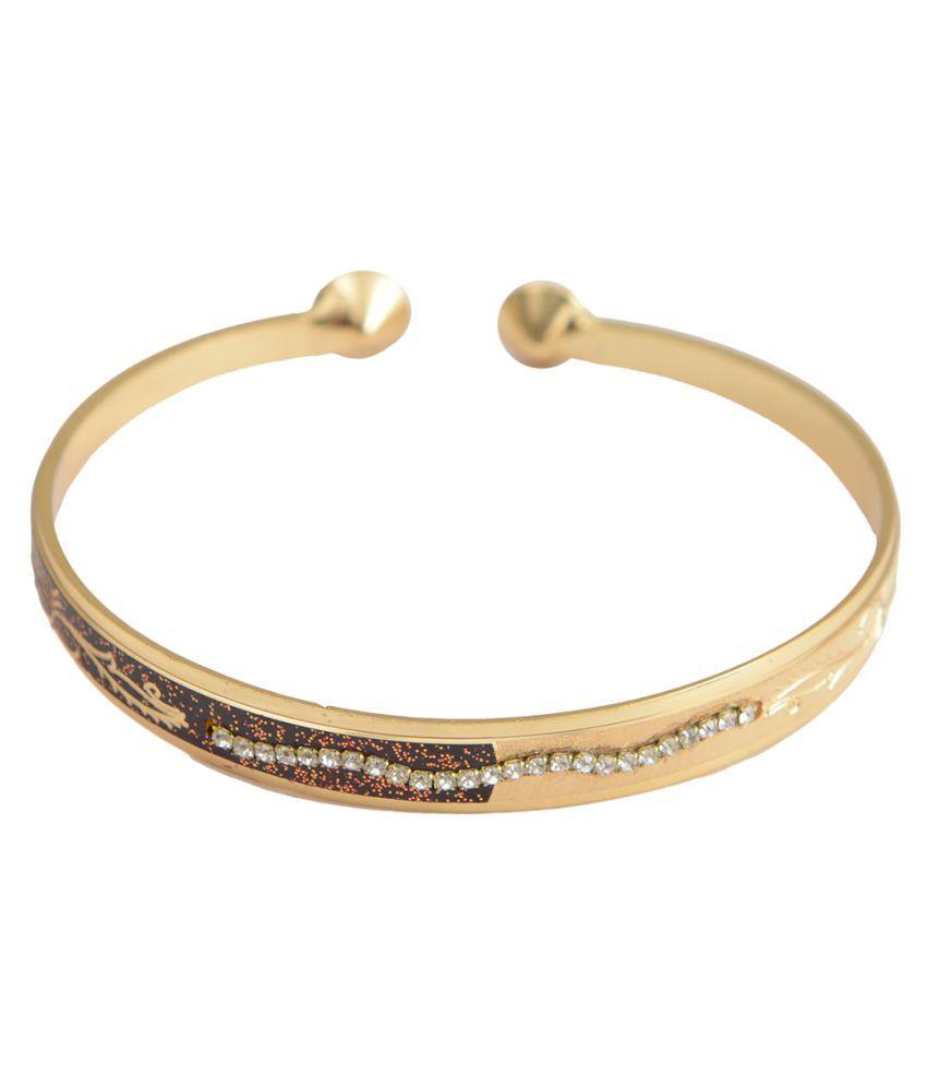 Taj Pearl Designer Cuff Bracelet Bangles