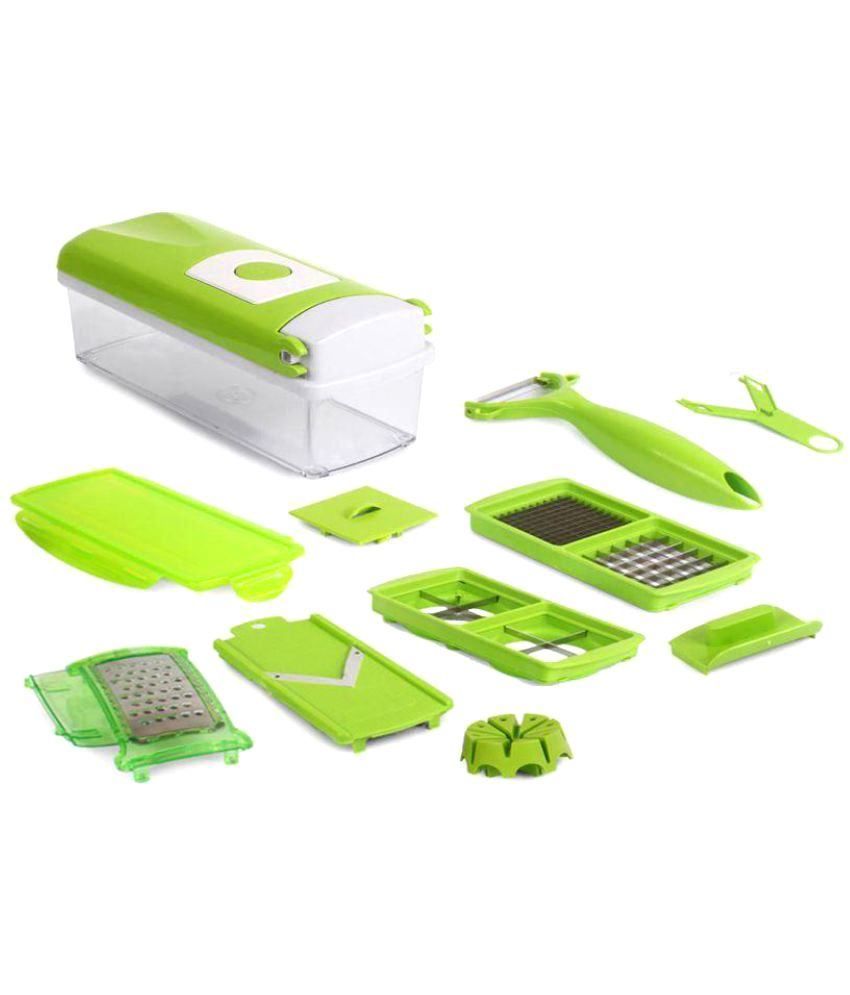 Unbox Diwali Sale!! Top 60 Deals On Furniture, Furnishing, Kitchenware & More By Snapdeal   Cospo Green Chopper Set @ Rs.299