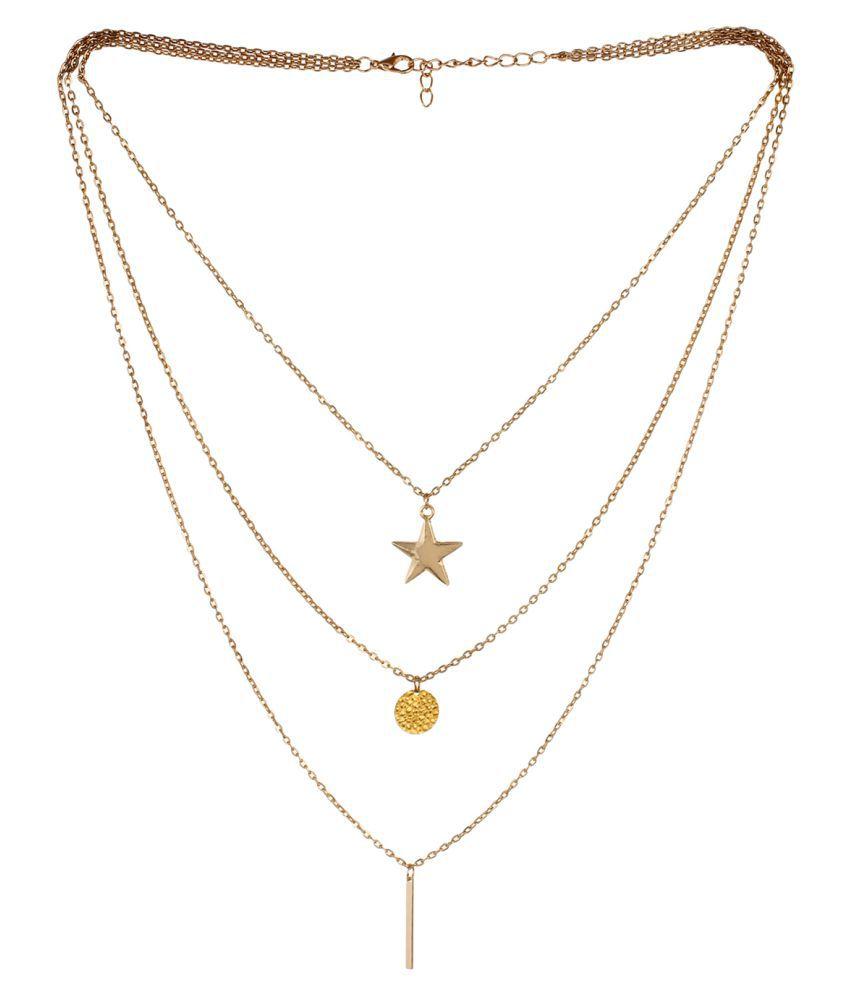 Fayon Golden Necklace