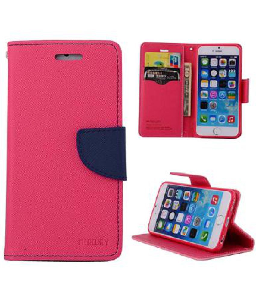 Samsung Galaxy J7 Flip Cover by Kulasri Empire - Pink