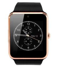 Sicario Moda Black Smart Watches With Call Function