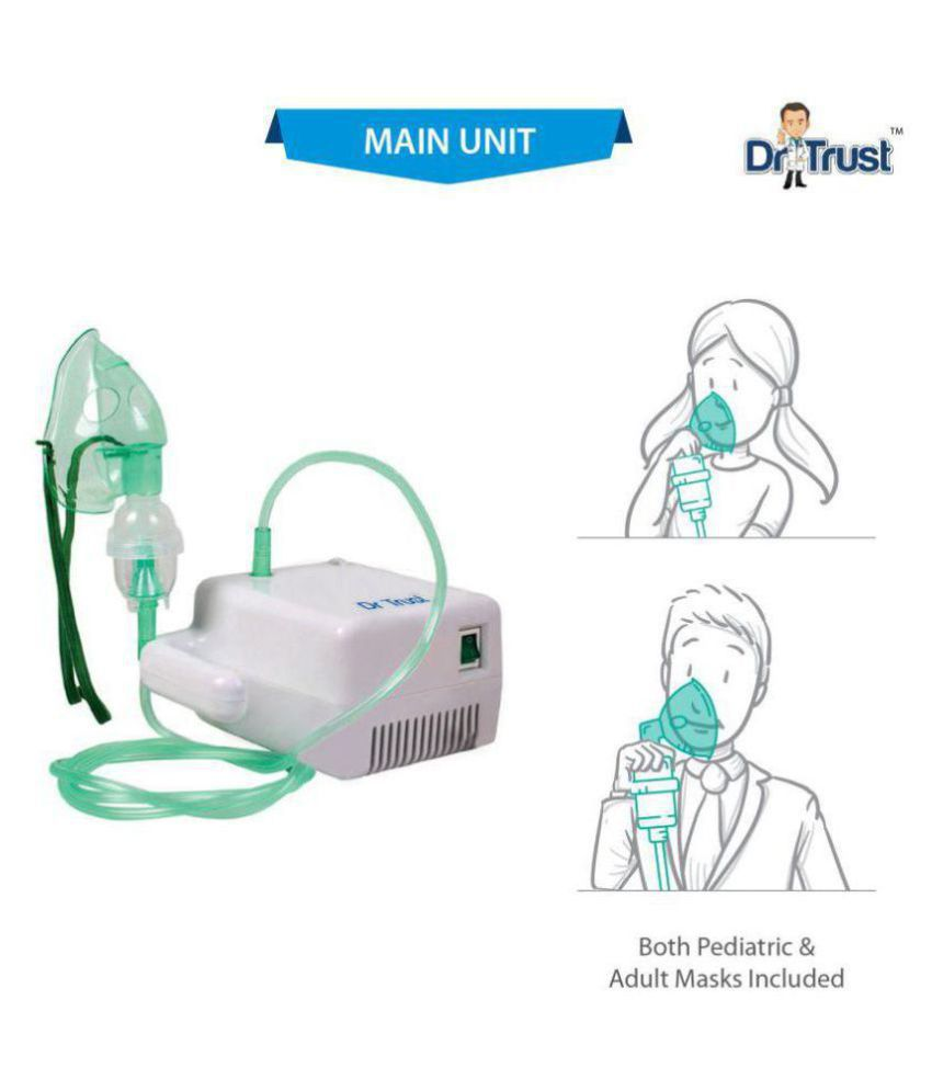 Dr. Trust Nebulizer Machine with Complete Kit for baby ...
