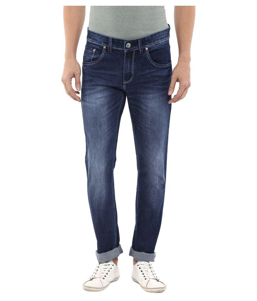 11cent Blue Slim Fit Men's Jeans