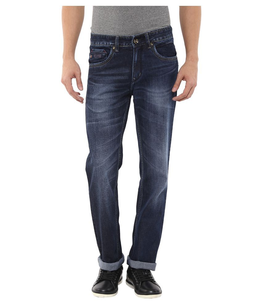 11cent Blue Slim Washed Men's Jeans