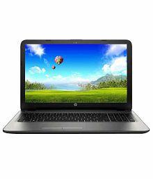HP 15-bg003au Notebook (AMD APU E2- 4GB RAM- 500GB HDD- 39.62 cm (15.6)- DOS) (Silver)