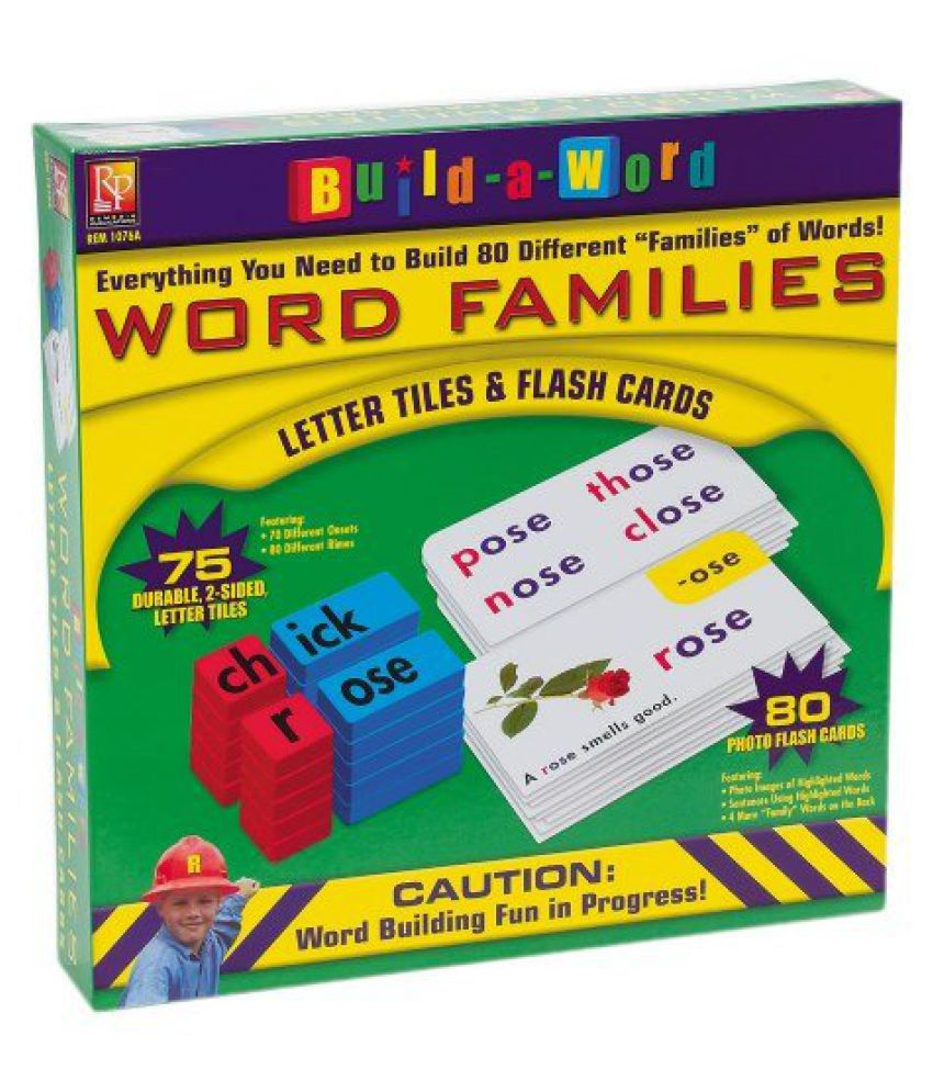Build-A-Word: Word Families
