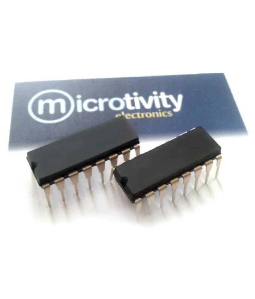 Microtivity Pack Of 2 L293 Quadruple Half H Driver I Cs