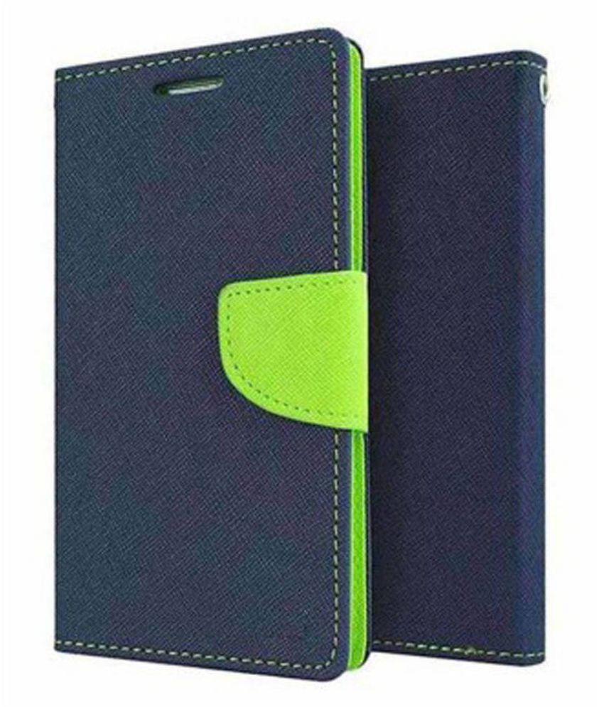 Asus Zenfone 5 Flip Cover by Top Grade - Blue