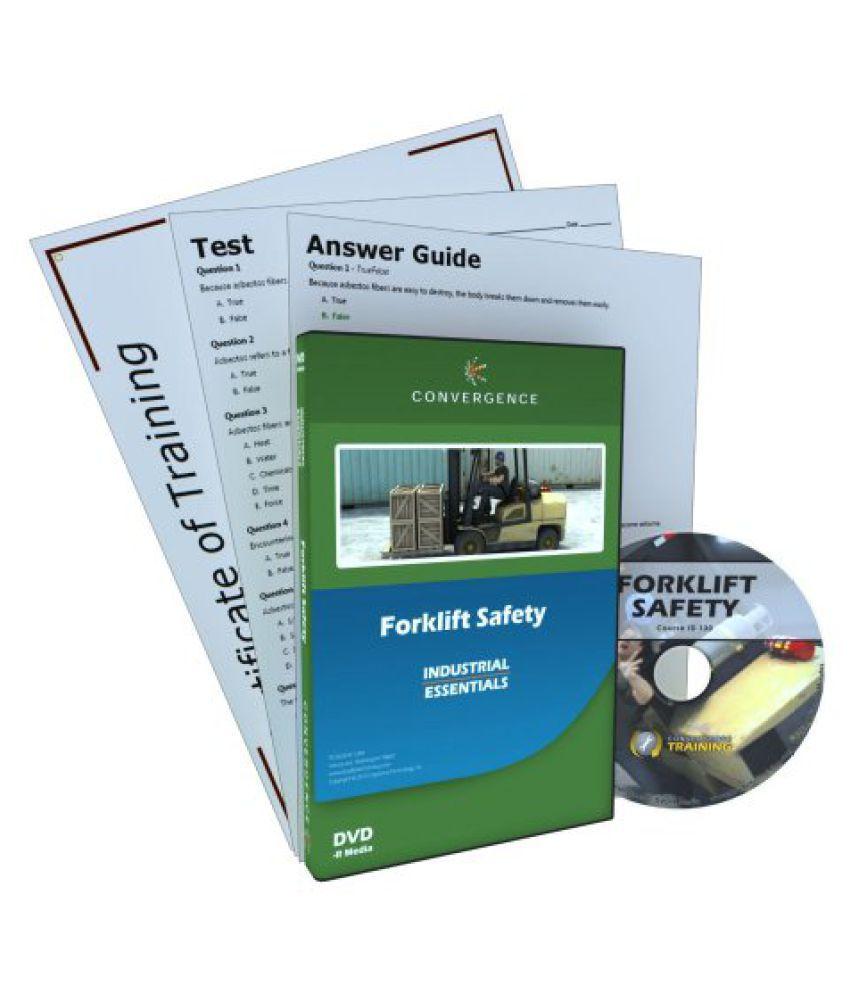 Convergence C-130 Forklift Safety Training Program DVD, 49 minutes Time