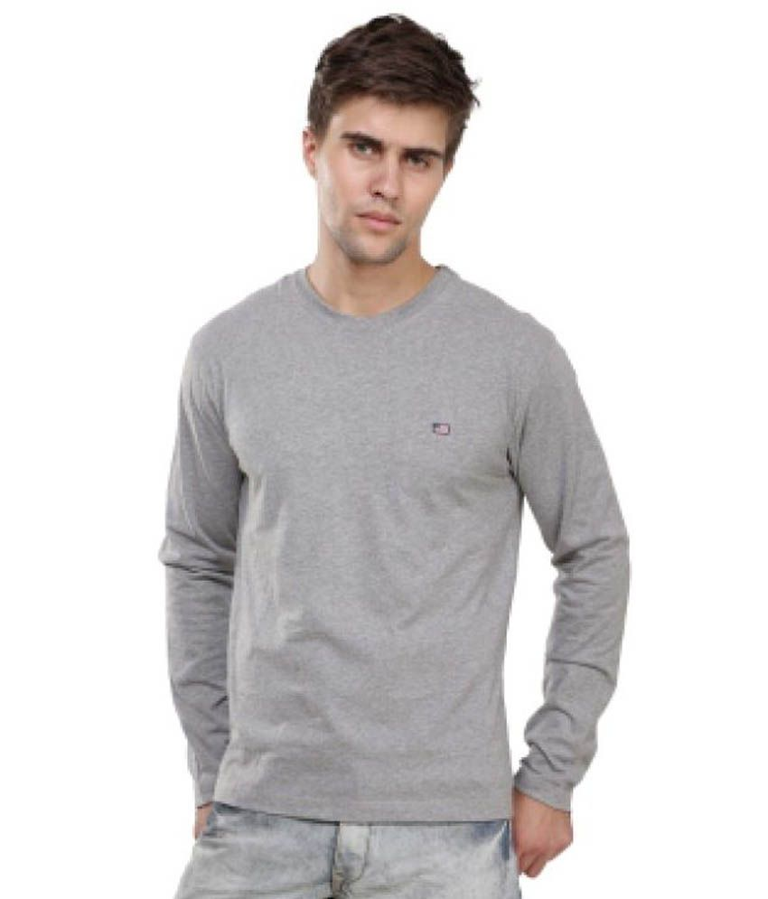 Jockey Grey Round T-Shirt