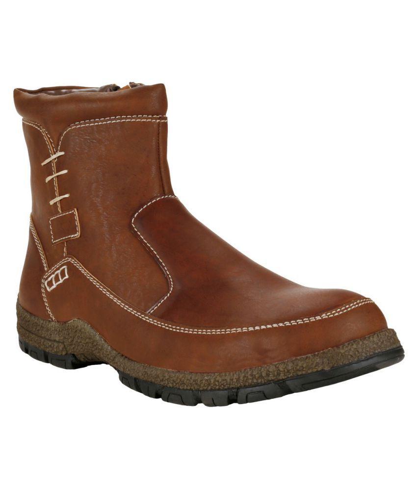 Le Costa. Brown Casual Boot