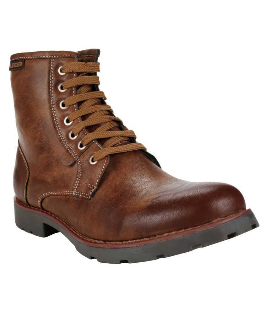 Le Costa. Brown Party Boot