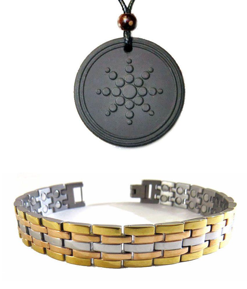 amazheal bio magnetic titanium bracelet with quantum