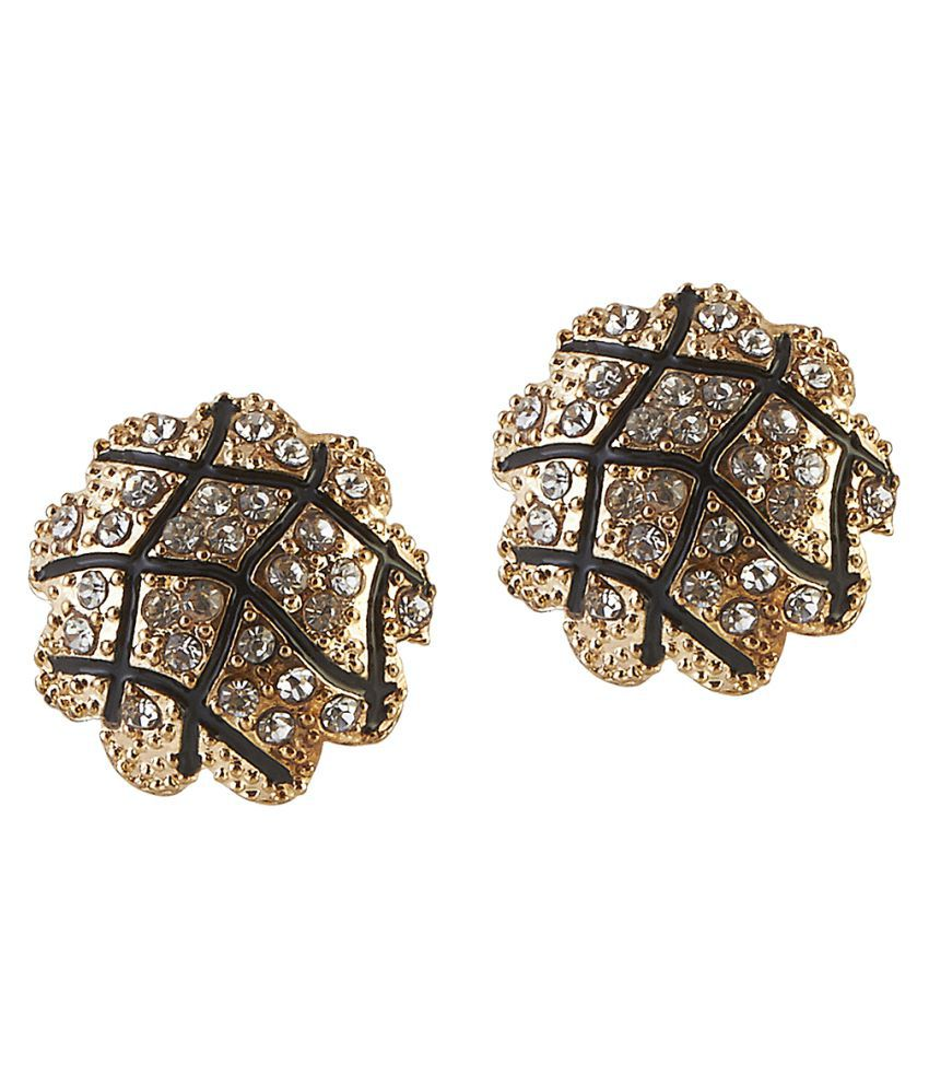 Kriaa Multicolour Stud Earrings