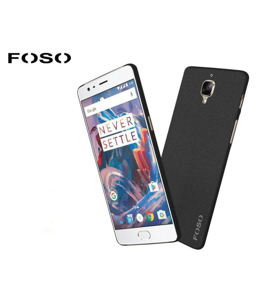 huge discount a2a75 37590 OnePlus 3 Cover by Foso - Black